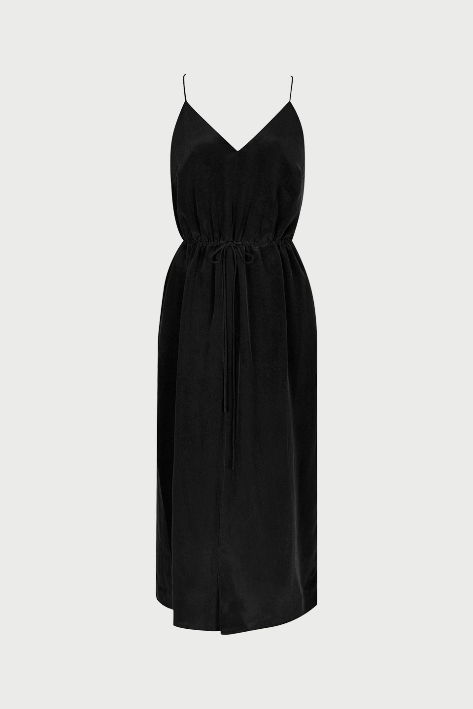 Robe Palace Charcoal en Soie Valentine Gauthier
