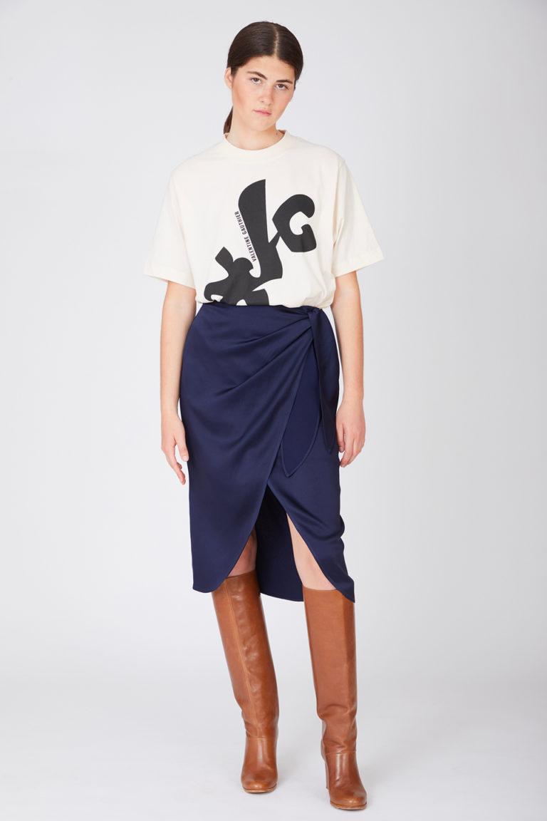 T-shirt Egon Modernism Black en Coton Bio