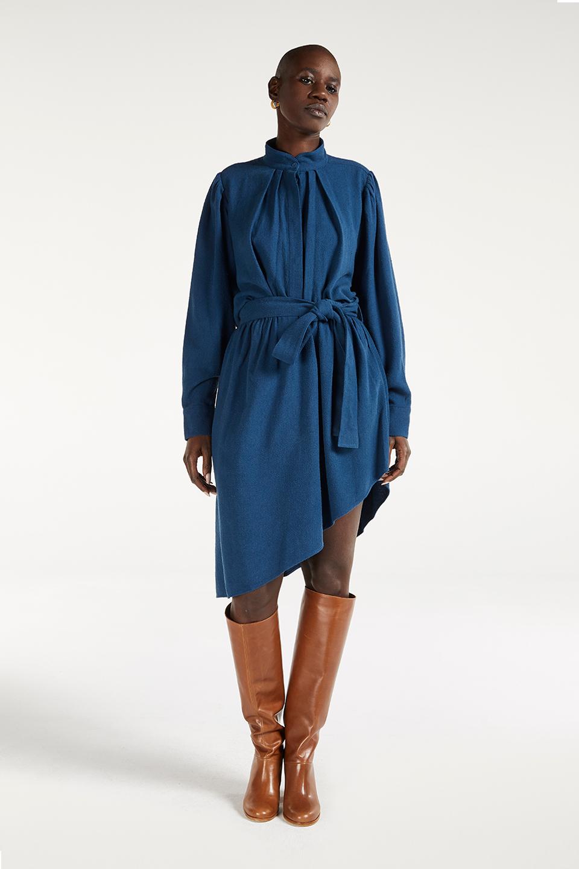 Robe Esther Midnight en Bourrete de Soie