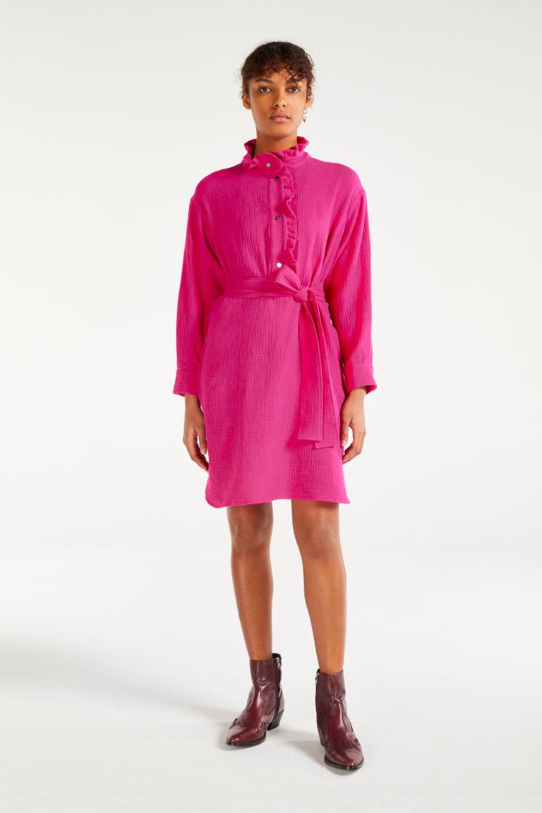 Robe Gaia Neon en Cotton Chiffon