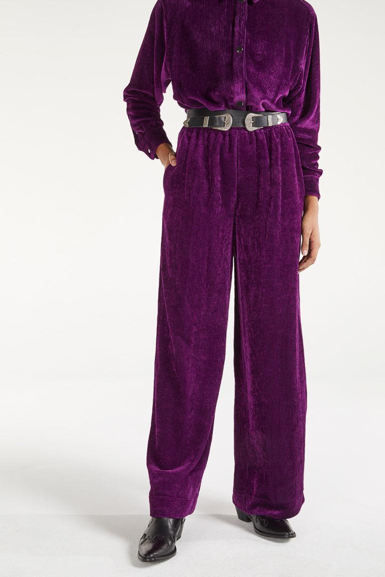 Pantalon Maja Berry Bowie en Viscose FSC